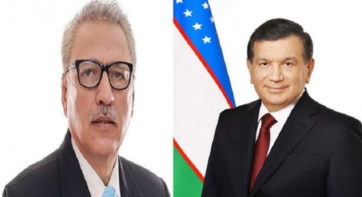 رئیس أوزبکستان شوکت میرضیایف یھنئی نظیرہ الباکستاني بمناسبة ذکری الیوم الوطنی لبلادہ