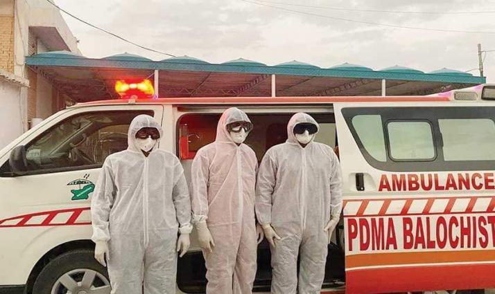 ارتفاع حصیلة الاصابات بفیروس کورونا الي 887 حالة في باکستان