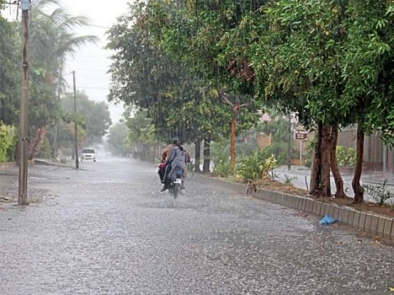 Heavy rain in Sargodha