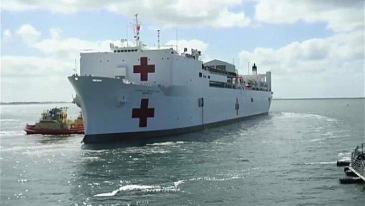 US Navy Hospital Ship Mercy to Arrive in Los Angeles Ahead of Schedule Friday - Pentagon