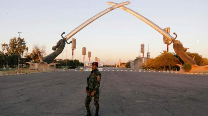 Two rockets hit Baghdad's Green Zone: Iraq military