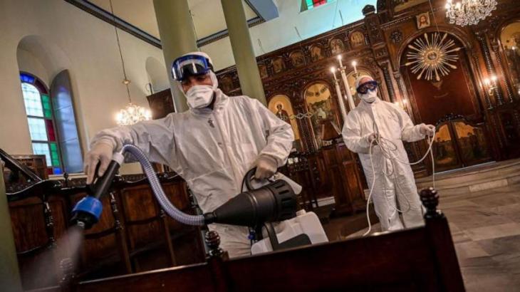 Greece locks down Muslim towns over coronavirus