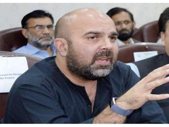 KP Govt to get 120 ventilators, 200,000 masks soon: Khyber Pakhtunkhwa Minister for Finance Taimur Salim Jhagar