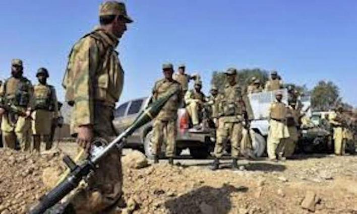 Police, Army and rangers administered Flag March in Mianwali