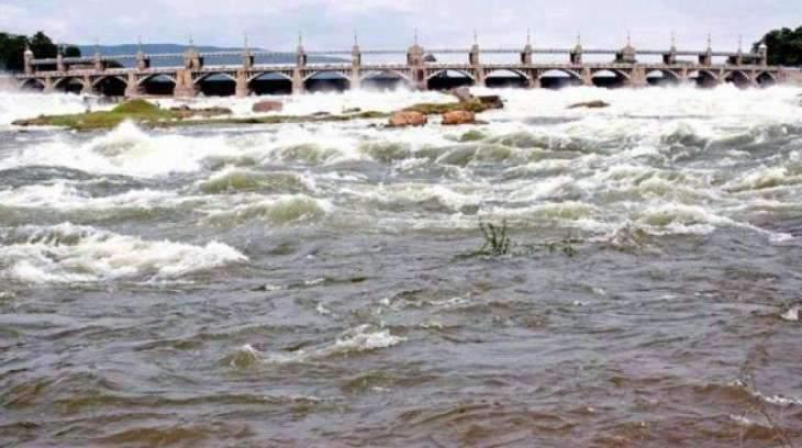 The Indus River System Authority (IRSA) releases 74,400 cusecs water