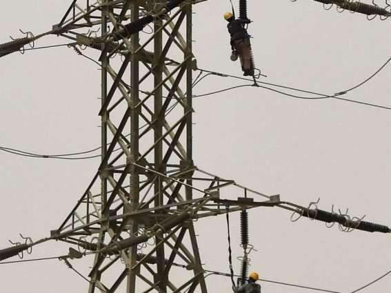 Peshawar Electric Supply Company (PESCO) teams conduct operation against power theft in Mardan