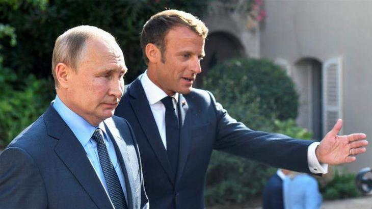 Putin Plans to Hold Phone Conversation With Macron on Thursday