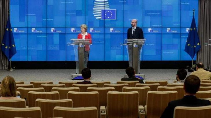 EU leaders struggle for unified virus response