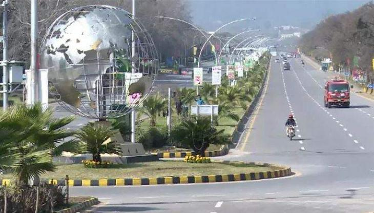 City administration Islamabad disinfected high-density areas of capital to contain COVID-19