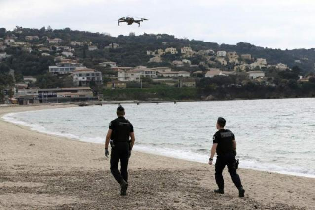 France police turn to drones to help ensure virus confinement