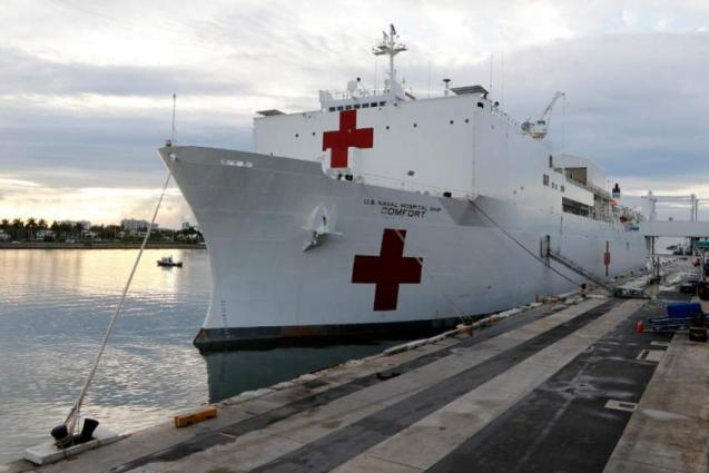 US Hospital Ship Comfort to Arrive in New York Ahead of Plan Early Next Week - Pentagon