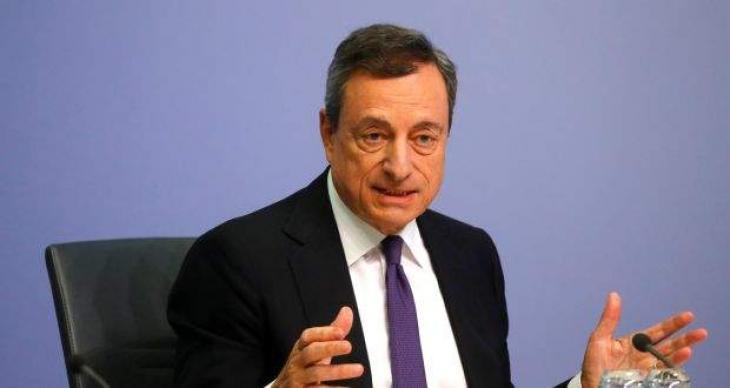 Draghi urges EU govts to shield economies