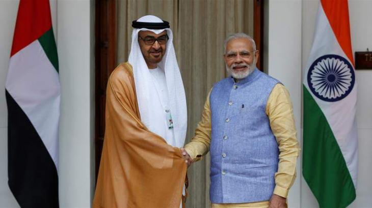 Indian Prime Minister, Crown Prince of Abu Dhabi Discuss COVID-19 Over Phone