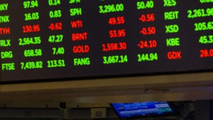Asian markets extend gains, dollar sinks on pledges