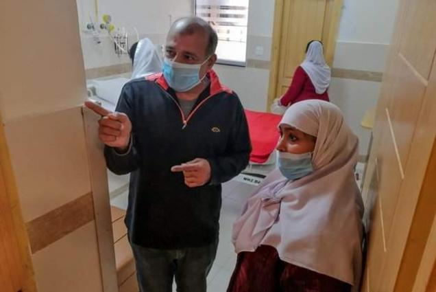 Mayor, DC & SSP visits quarantine centre