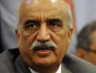 Khursheed Shah`s bail hearing adjourns till Apr 7