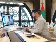 قائد عام شرطة ابوظبي يجتمع مع مدراء القطاعات ..