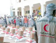 UAE provides 171 tonnes of food aid to residents of Al Shihr in Y ..