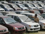 Sale, production of cars decline in first three quarters