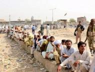 DC South Waziristan visits damage portion of main Wana-Tanai Road ..