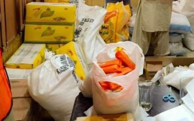 NTUF, HBWWF distribute ration among 350 families