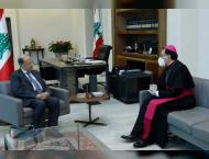 Lebanese President supports call to pray for huamnity
