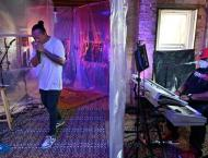 Jazz musician plays gigs from DC house -- mid-renovation