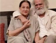 Photo of Samina Ahmad, Manzar Sehbai makes waves on social media