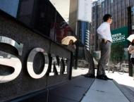 Sony annual net profit slumps, warns of tough year
