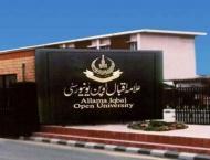 Allama Iqbal Open University (AIOU) playing vital role in enhanci ..