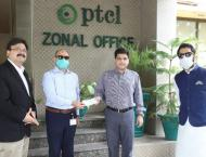 PTCL's Coronavirus support and relief package for Shaukat Khanum  ..