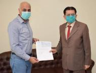 PTCL supports Pakistan Red Crescent Society Corona Care Hospital