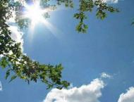Mainly hot, dry weather forecast