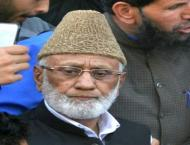 Hurriyat leaders expressed solidarity with Ashraf Sehrai
