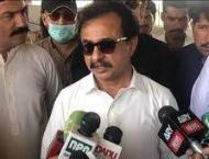 Haleem Adil distributes personal protection equipment