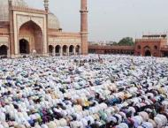 Timing of Eid ul Fitr Namaz at different Mosques notified