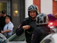 Police Holding Talks With Suggested Hostage Taker at Moscow Bank  ..