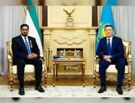President of Kazakhstan awards Order of Friendship to UAE Ambassa ..