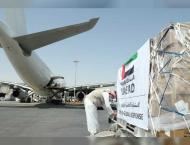 UAE sends medical aid to Iraqi Kurdistan in fight against COVID-1 ..