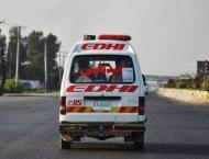 Two injured in Sibi road mishap