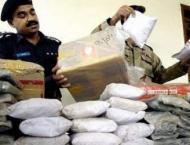 Five smugglers arrested by Besham Police in Danda Shing