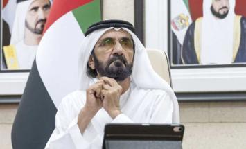 محمد بن راشد: عملت الحكومة بكفاءة عالية ..