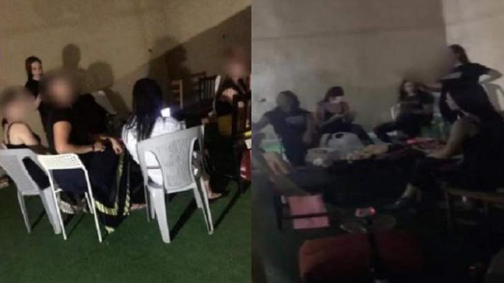 القبض علي مجموعة من الفتیات و الشباب بتھمة شرب خمر حفل مختلط خلال شھر رمضان المبارک في الأردن
