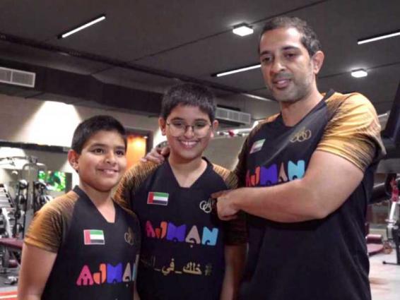 """نجاح كبير لسباق """"دواثلون الإمارات"""" الافتراضي العائلي"""