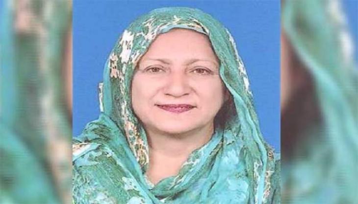 وفاة عضوة البرلمان في اقلیم بنجاب من حزب الانصاف الحاکم شاہین رضا بفیروس کورونا