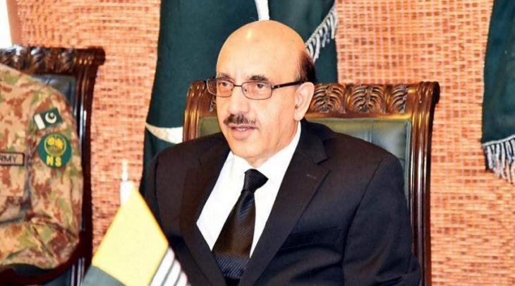 رئیس کشمیر الحرة یعرب عن أسفہ لصمت المجتمع الدولي بشأن انتھاکات الحقوق الانسانیة في کشمیر
