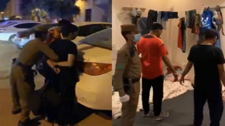 القبض علي حلاقین اثین یقومان الحلاقة للزبائن في المنازل بعد أن أبلغ باکستاني الشرطة عنھم في السعودیة