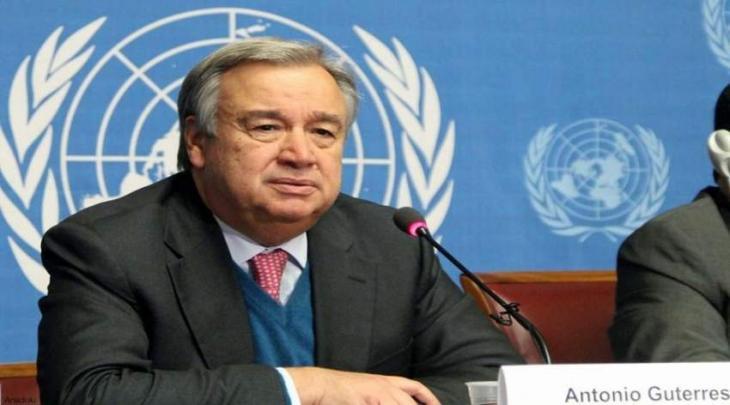 الأمین العام لأم المتحدة یھنئی المسلمین بمناسبة عید الفطر
