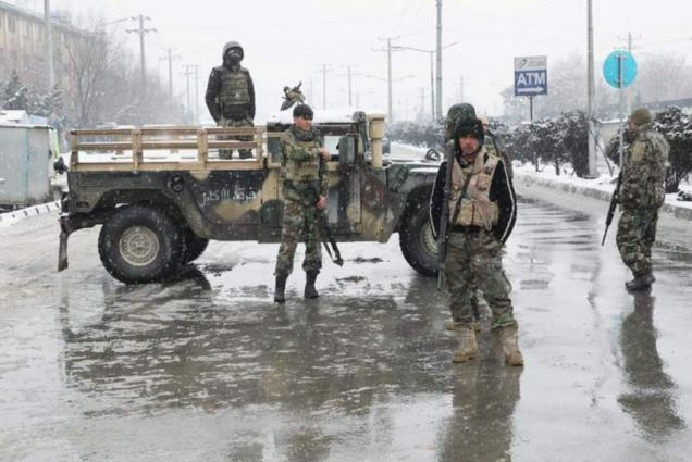 14 Afghan security force members killed in attack claimed by Taliban