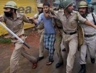 Indian police arrest six youth in IOK